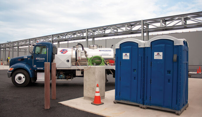 30 Yard Waste Dumpster Containers with Portable Toilets--Lee County Waste Dumpster Rentals Services-We Offer Residential and Commercial Dumpster Removal Services, Portable Toilet Services, Dumpster Rentals, Bulk Trash, Demolition Removal, Junk Hauling, Rubbish Removal, Waste Containers, Debris Removal, 20 & 30 Yard Container Rentals, and much more!